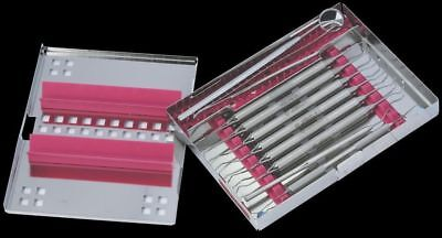 Osung Dental Instrument Cassette Stainless Steel 10 Capacity 1425