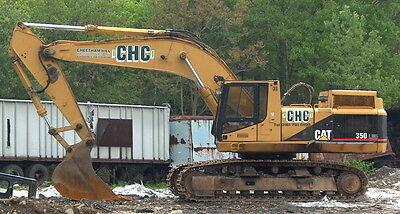 Used 1996 Cat 350 Lme Hydraulic Excavator