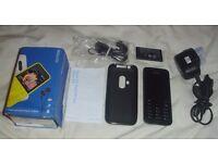 Nokia Asha 220 2.4 inch Sim Free Mobile Phone - Black Simple
