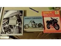 3 X MOTORBIKE BOOKS