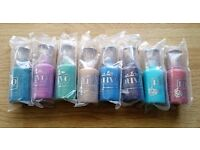 Nuvo Crystal glitter drops New and sealed 30ml bottles for card making/scrapbooking