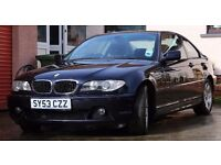 BMW 320cd coupe diesel 2004 low mileage