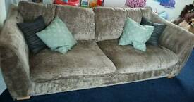 Sofa and arm chairs