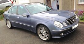 Mercedes E320 avantgarde low mileage automatic with private plate included