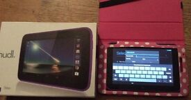 Boxed Tesco hudl android tablet 16gb 7 inch screen purple child friendly great gift £60 no offers