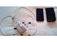 IPhone 4s 8Gb 02 Network with Charger and Case