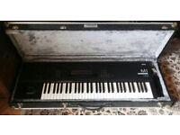 Korg M1 - Synthesizer Workstation with Flightcase,manual,voice list and menu card,one owner from new