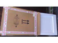 Brand New Magnet Kitchen 716x597x22 Shaker Super White door