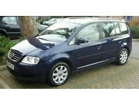 Volkswagen Touran 1.9 TDI SE, 2006/56, 7 seater diesel! £2750 NO OFFERS!