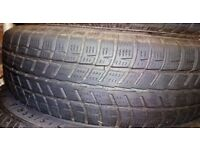 2 winter/snow car tyres – (155/70 r13 75t) Cooper Weather Master SA2. ALMOST NEW, BARGAIN PRICE!