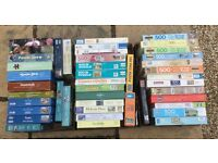 Selection of 47 Jigsaw Puzzles
