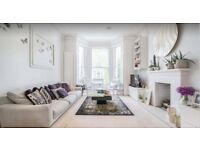 Three-bedroom maisonette on attractive tree-lined street situated in Kensington