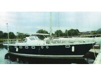 Hartley Fijian 1973 44ft Cutter rigged yacht. Documented ex Ocean Racer