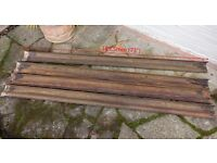 Victorian cast-iron guttering x4 for sale