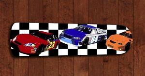 race car ceiling fan checkered flag boys bedroom decor kids childs