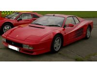 Ferrari Testarossa 1991 (Red with cream leather and black carpets) UK Right Hand Drive NOT LHD