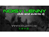 Noisy Lenny - Club, Events & Radio DJ for hire