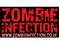 Zombie Scare Actors required for Zombie Infection - Evening and Weekends
