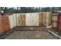 Garden gates . Fencing. Decking and raised flower beds. Made to measure