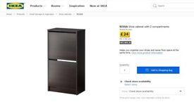 Ikea BISSA Shoe Storage Cabinet
