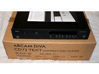 Arcam DiVA CD73T CD Player