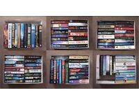 'Books Bundle' 95 Books as a Bundle Hard Back & Paper Back