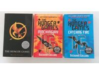 THE HUNGER GAMES book trilogy MOCKING JAY. CATCHING FIRE. Suzanne Collins NEW Christmas gift present