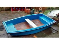 """SMALL UNSINKABLE PRAM STYLE DINGHY DINGY BOAT TENDER CAR TOPPABLE 7FT 5"""""""