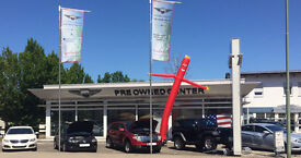 Would you like to sell Cars in Germany to American soldiers? Suitable for junior/apprentice.