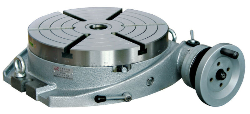 "16"" Precision Horizontal Rotary Table with A Dividing Plate"