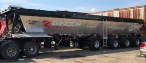 New 2019 Gincor Live Bottom Trailers