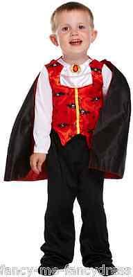 Kleinkind Jungen Halloween Vampir Buch Tag Kostüm Verkleidung Outfit Alter