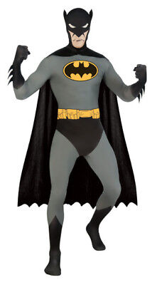 Mens Adult 2nd Skin Body Suit Stretch Batman - Zentai Kostüme Batman