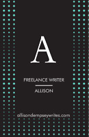 Freelance Writer and Proofreader