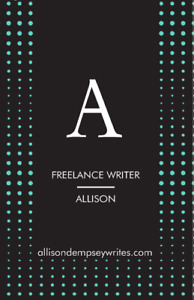 Detail oriented freelance writer, editor