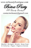 HAMILTON Botox and Lip Injection parties at NV Beauty Boutique!