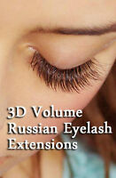3D lashes - SAVE $60 FOR EYELASH EXTENSIONS IN OWEN SOUND