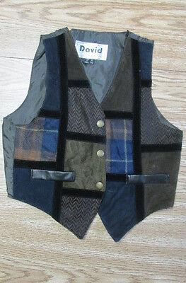 Child Brn Vest Lg /Annie /Wizard of Oz/ OliverTwist /Newsies /Munchkin costume  (Wizard Of Oz Child Costumes)