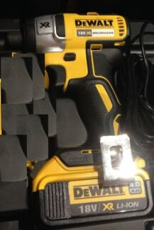 Dewalt Brushless 18v Impact Driver & 4ah battery (no charger) Brighton Bayside Area Preview