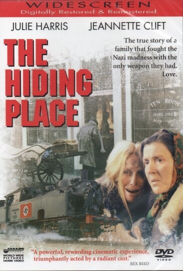 The Hiding Place DVD, Story of Corrie Ten Boom, All Regions, New, Sealed