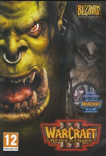 Warcraft Iii 3 Gold Reign Of Chaos And Frozen Throne War ...