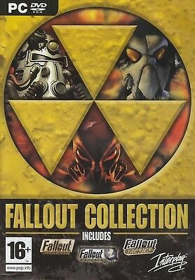 Fallout Collection Trilogy Brand New fall out 1 2 and Tactics Trilogy