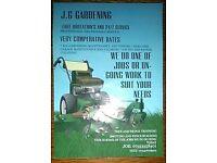 J.G GARDENING/MAINTENANCE