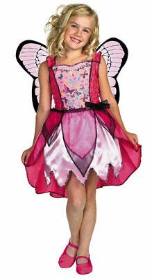 NEW Girl Barbie Mariposa Butterfly Fairy Dress Up Halloween Costume - Mariposa Barbie Kostüm