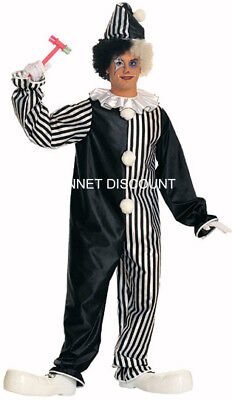 ADULT HARLEQUIN CLOWN HALLOWEEN FANCY DRESS COSTUME GENTS FREE P+P UK REDUCED
