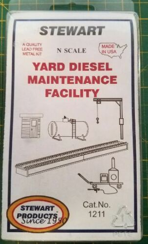 N  Stewart   #1211  Yard Diesel Maintenance Facility  kit   NIP