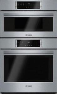 Bosch 800 Series HBL87M52UC 30 Inch Microwave Combination Ov
