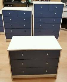 BRAND NEW Cute Blue Drawers 💙 Prices: £35 £45 £49. Delivery Available 🚚
