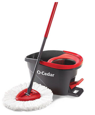 O Cedar Easywring Microfiber Spin Mop And Bucket Floor Cleaning System