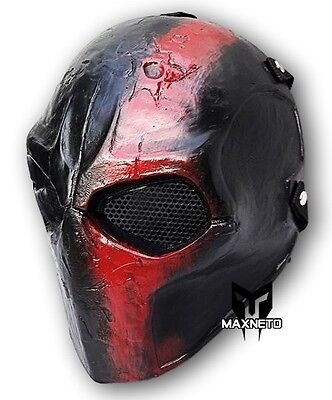 Custom Airsoft Mask Paintball BB Gun Outdoor Protective Gear Cosplay Death Race